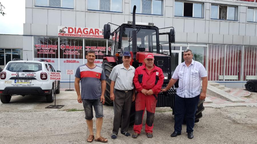 Livrare Tractor Belarus 1221