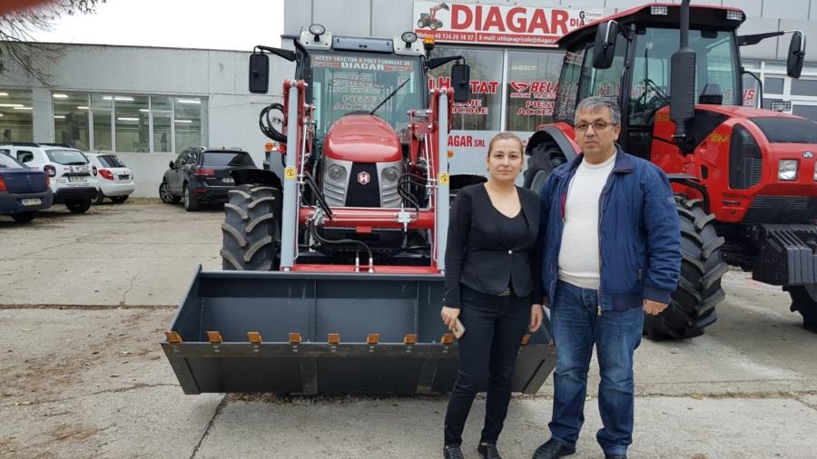 livrare Tractor Hattat A110 - 102cp, Topraisar, Constanta