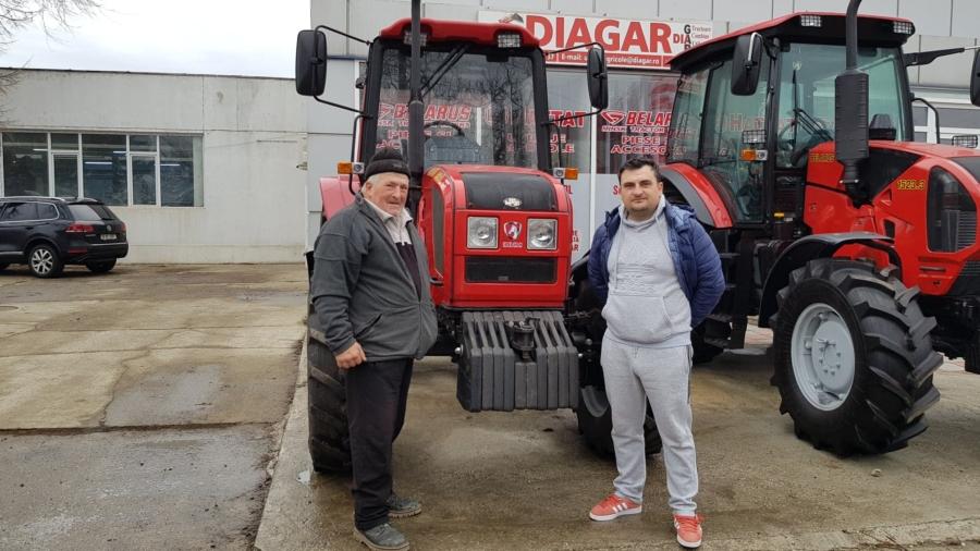 Tractor Belarus TAG 952.3 in Novaci, Jud Giurgiu