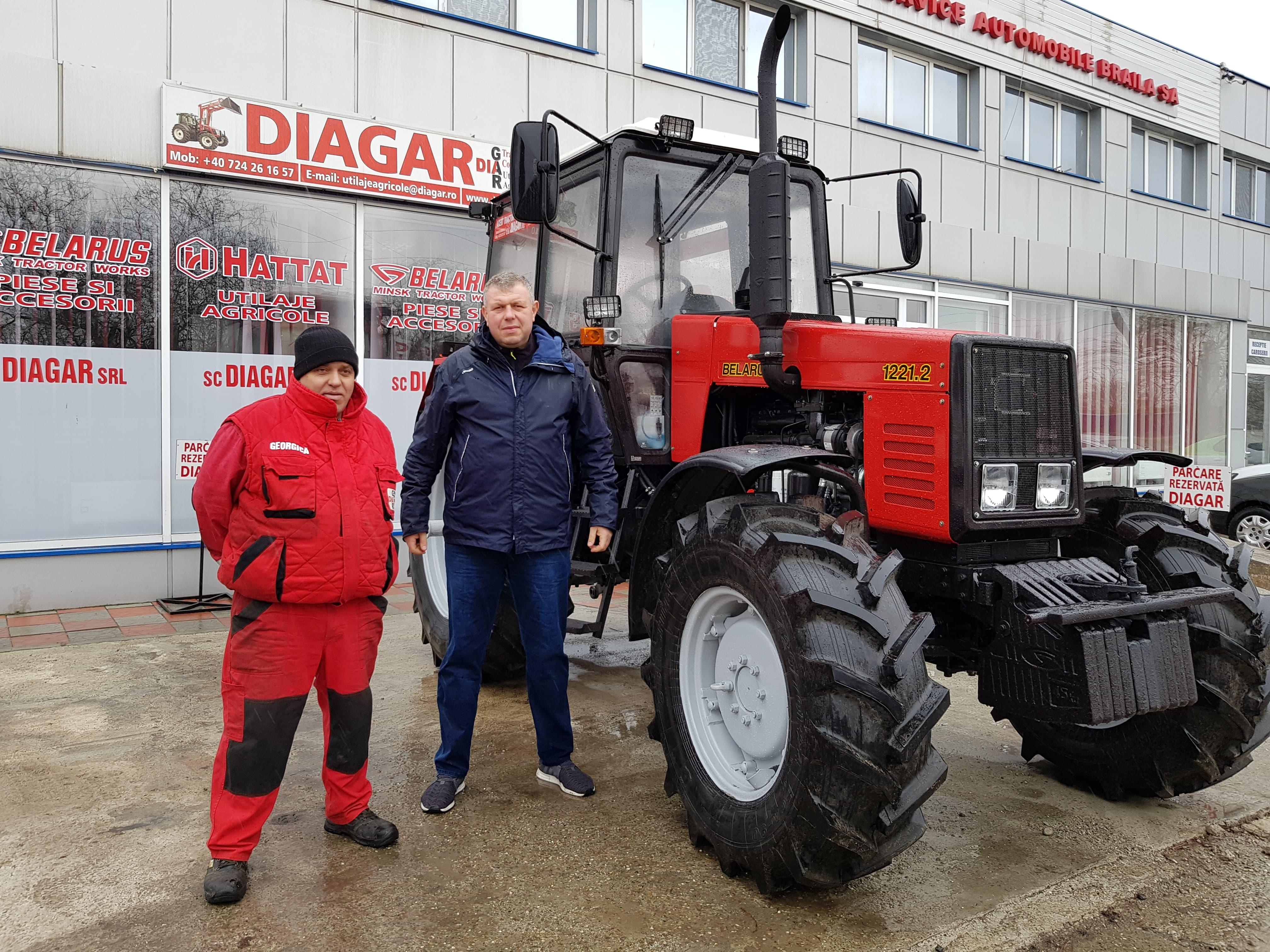 Tractor MTZ 1221.2